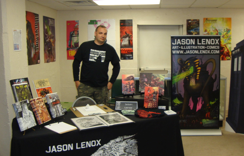 Free Comic Book Day 2014 Jason Lenox