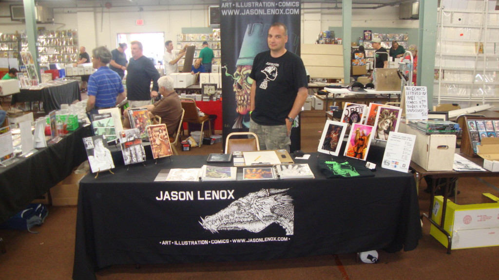 Jason Lenox Allentown Comic Expo