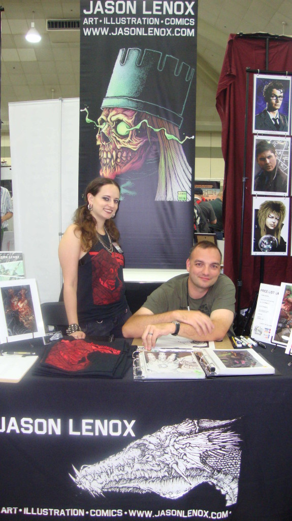 Jason Lenox Baltimore Comic Con 2014