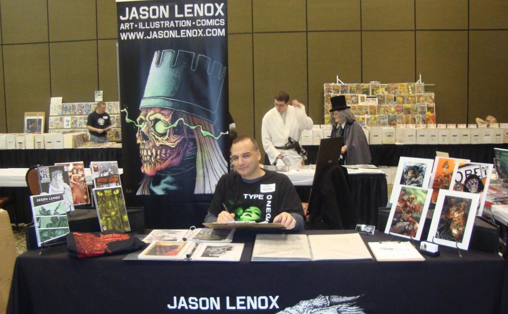 Jason Lenox Hershey Comic Con 2014