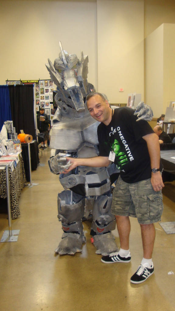 Jason Lenox Pittsburgh Comic Con 2014 2