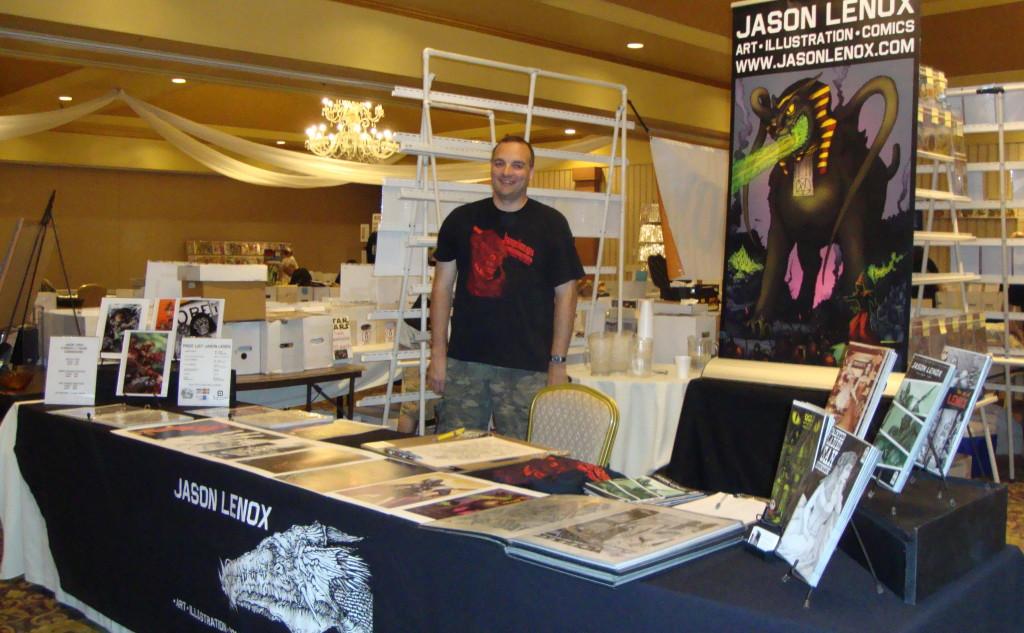 Jason Lenox Scranton Comic Con 2014
