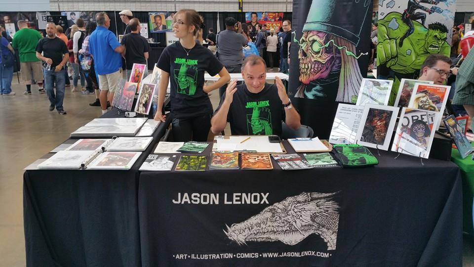 Jason Lenox Wizard Pittsburgh 2015