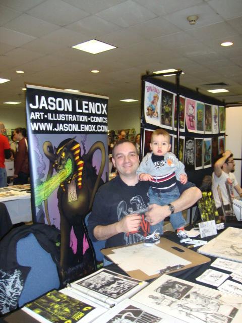 Jason Lenox and Blaine Lenox at Nittany Con 1 2013