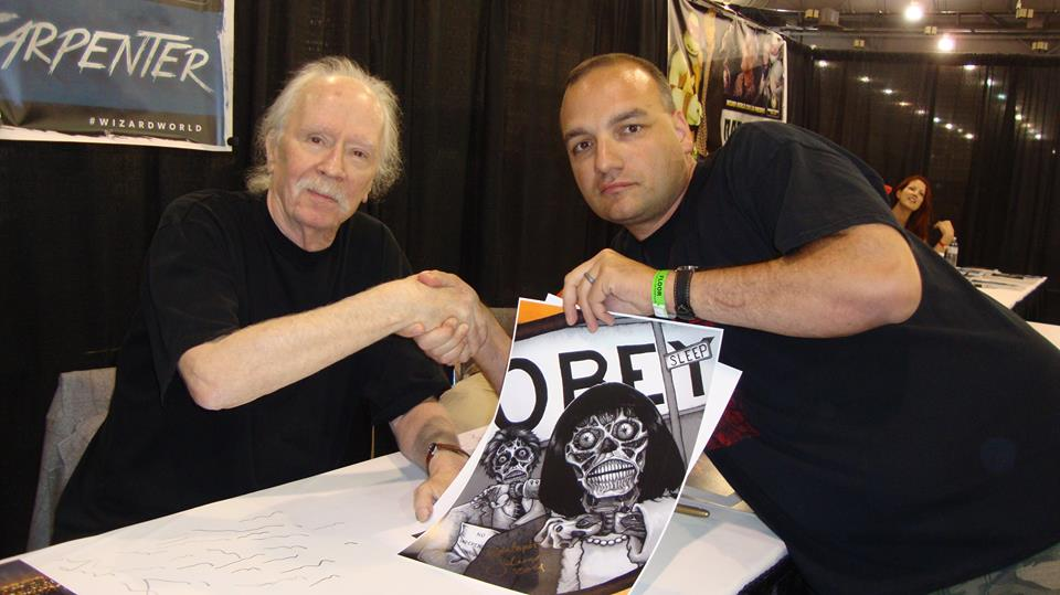 Jason Lenox and John Carpenter 2014