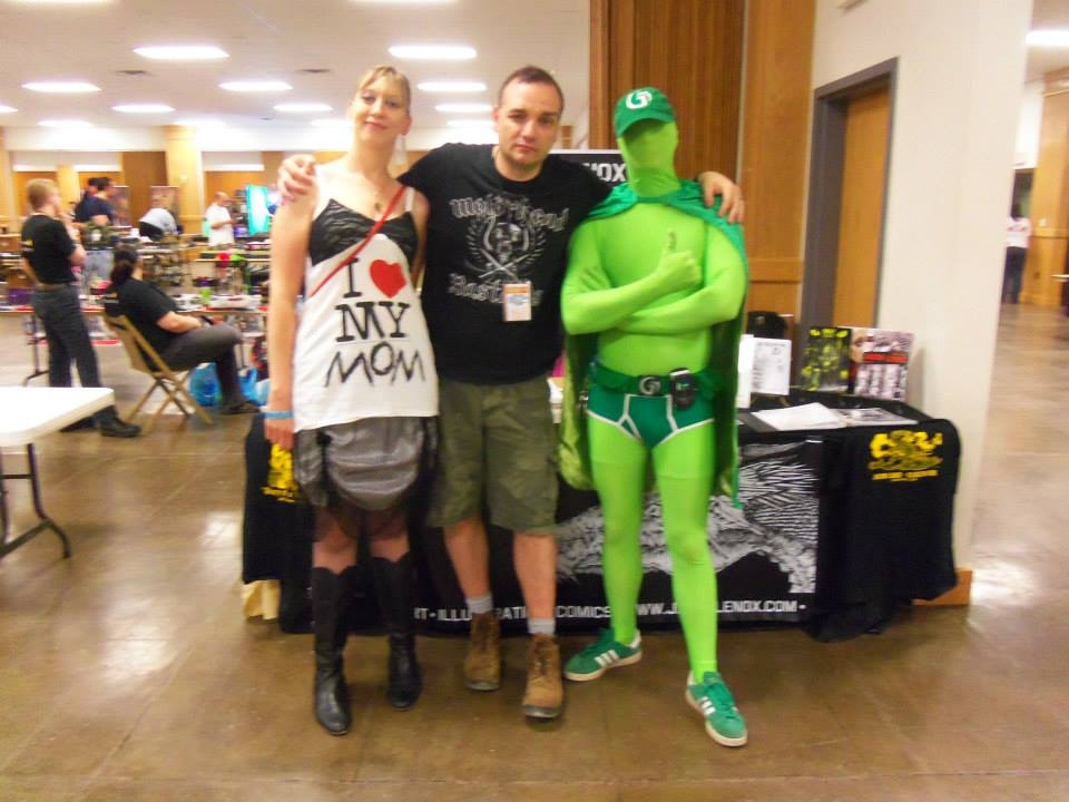 Jason Lenox and THE GREEN FAMILY at Sci Fi Valley Con
