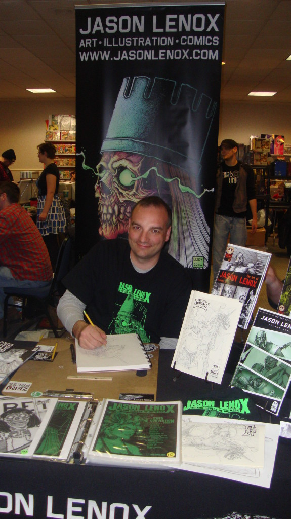 Jason Lenox at Nittany Con a great place to swap a comic at