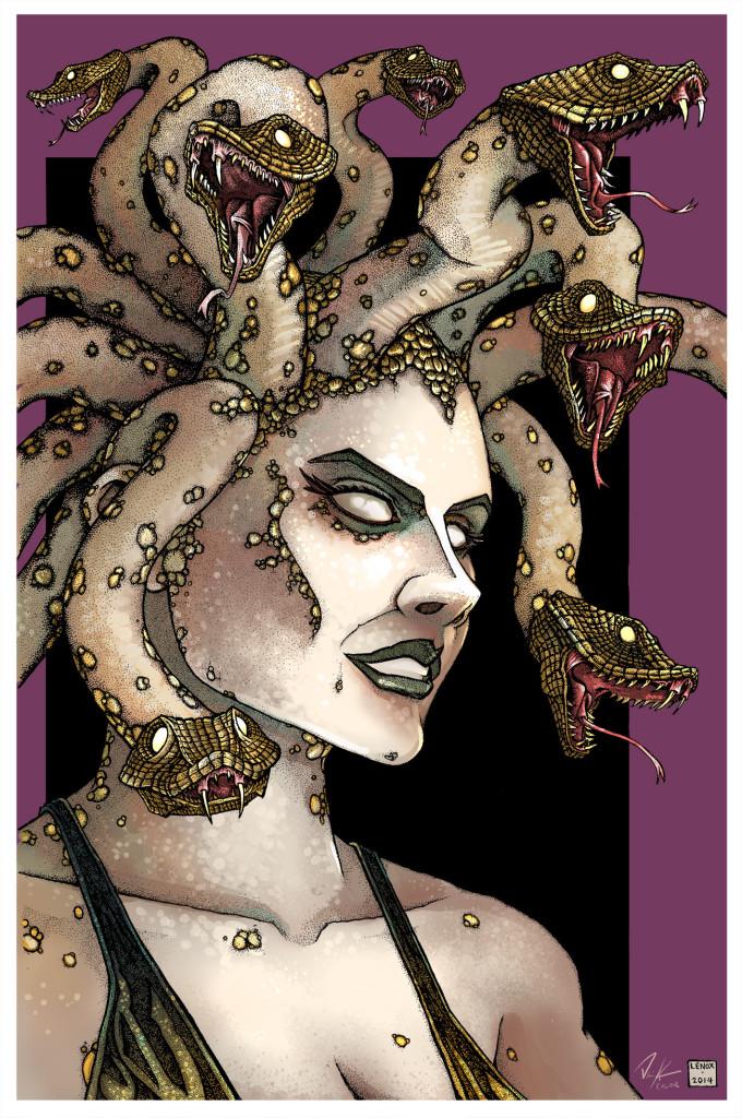 Jason Lenox Gorgon Medusa