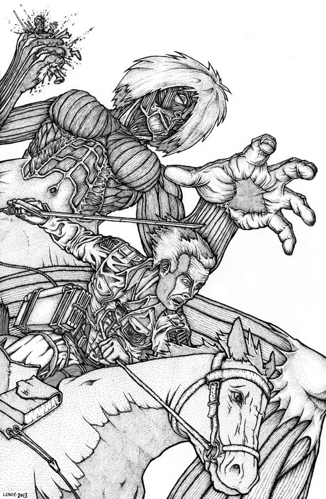 Attack on Titan by  Jason Lenox