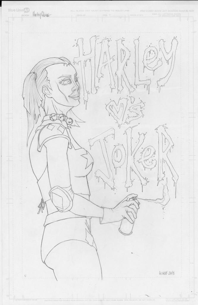 Harley Quinn Jason Lenox