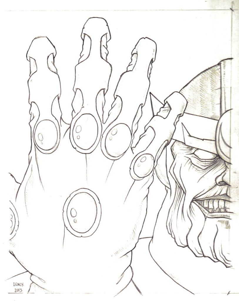 Thanos by Jason Lenox
