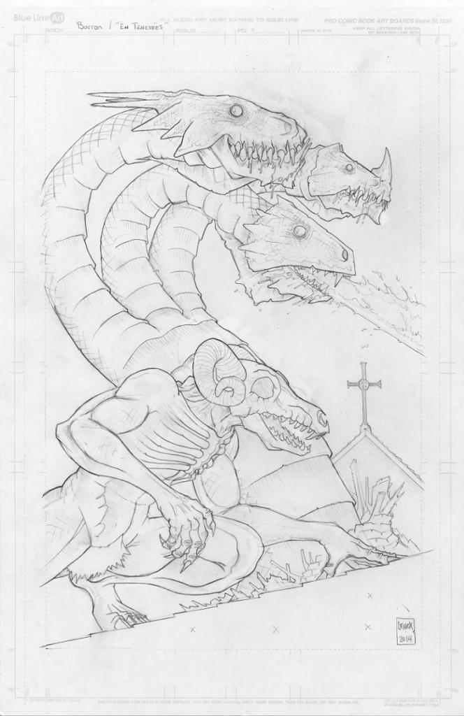 Demon Barron and Hydra - Jason Lenox