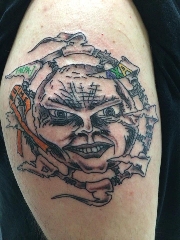 Jason Lenox- Dave Warden's final tattoo