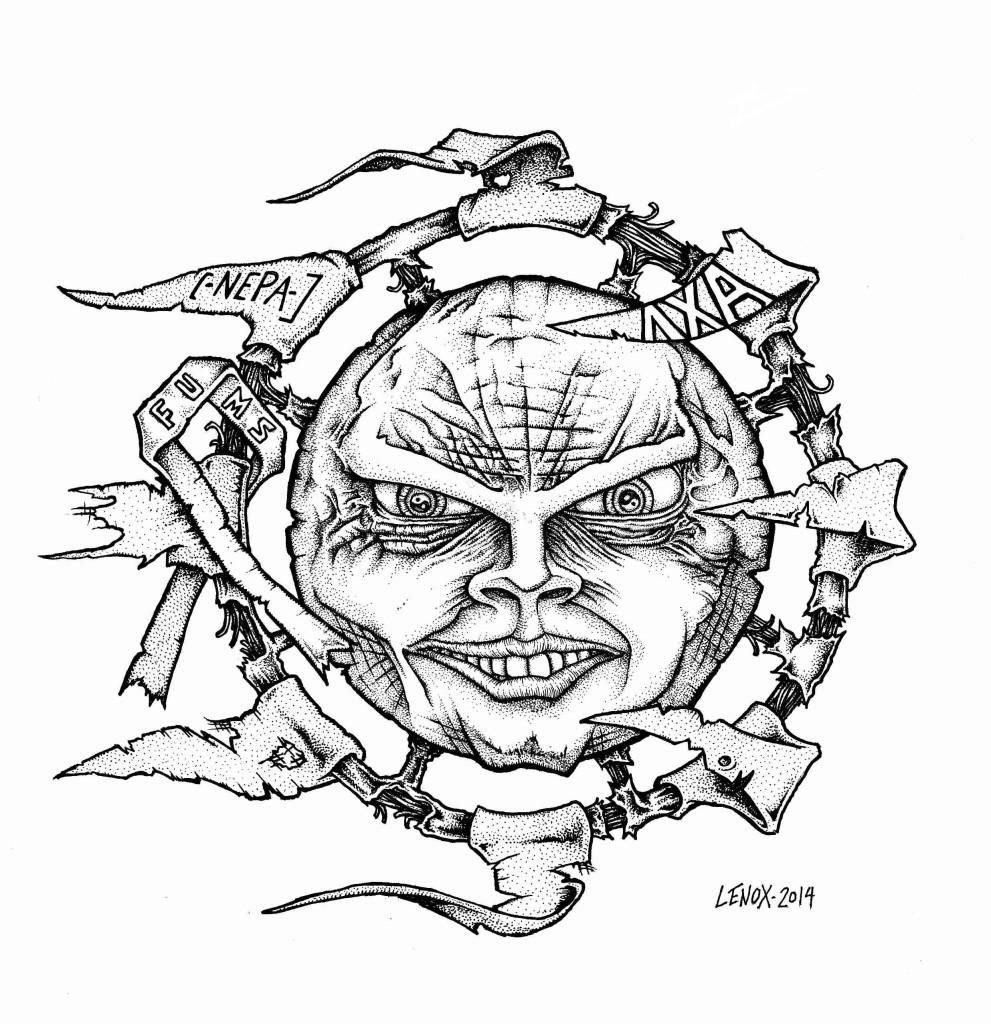 Tattoo Sun Design Jason Lenox