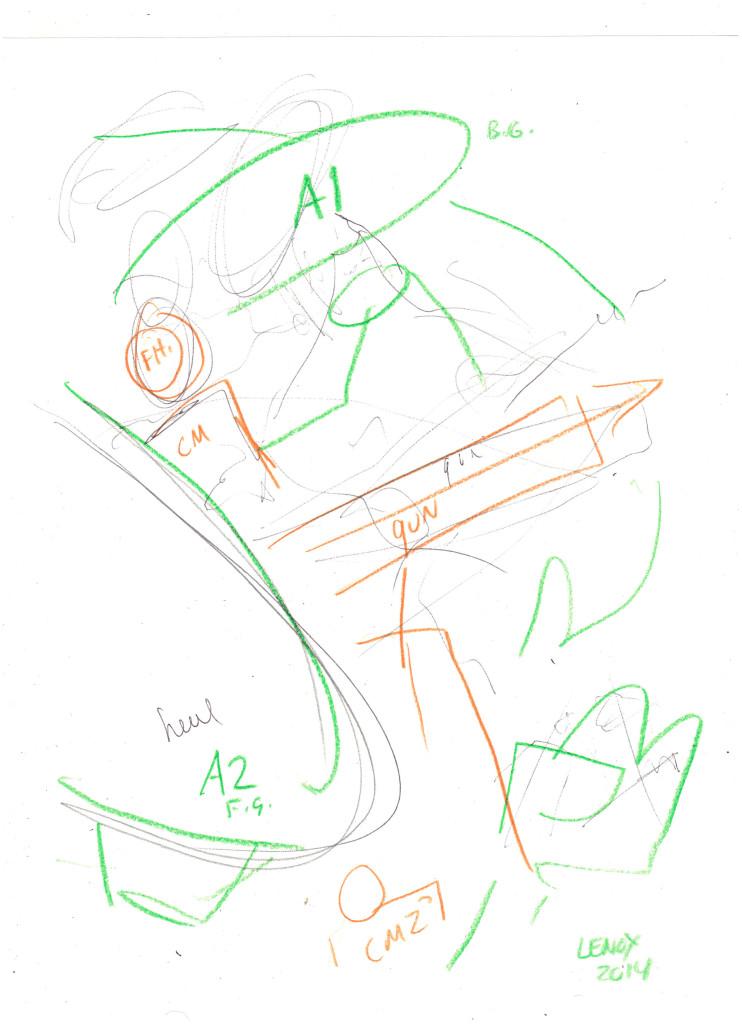Jason Lenox ALIENS Artwork Progress (2)