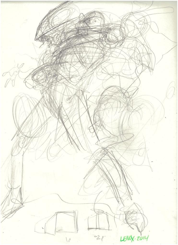 Jason Lenox ALIENS Artwork Progress (3)