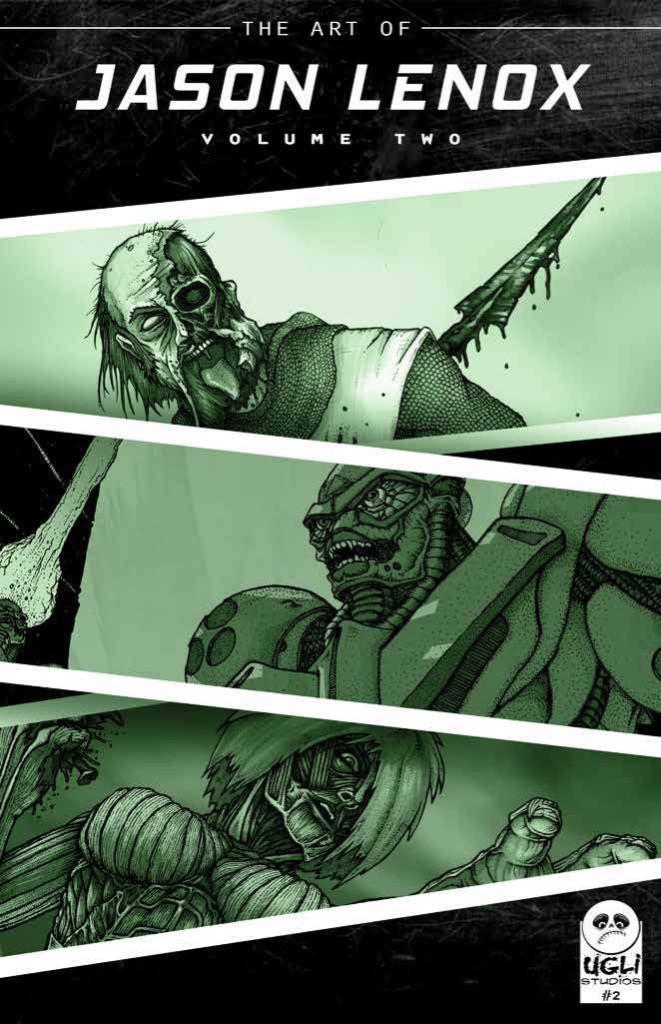 Art of Jason Lenox Volume 2 Cover