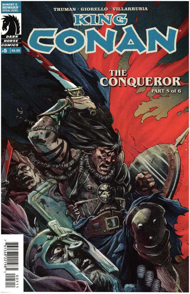 Jason Issue of Conan Cover