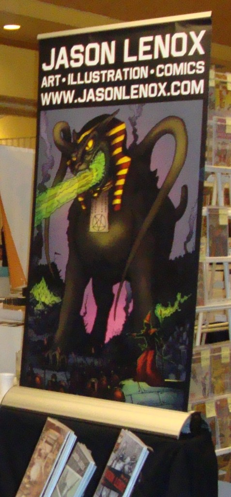Jason Lenox Demon Cat Banner