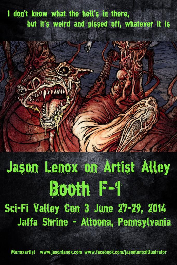 Jason Lenox SCI FI Poster 2014