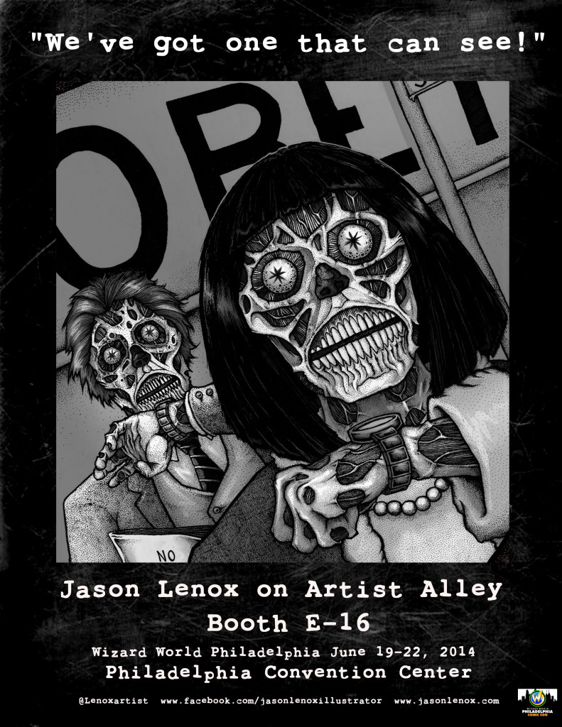 Jason Lenox WW Philly Poster with Table Number