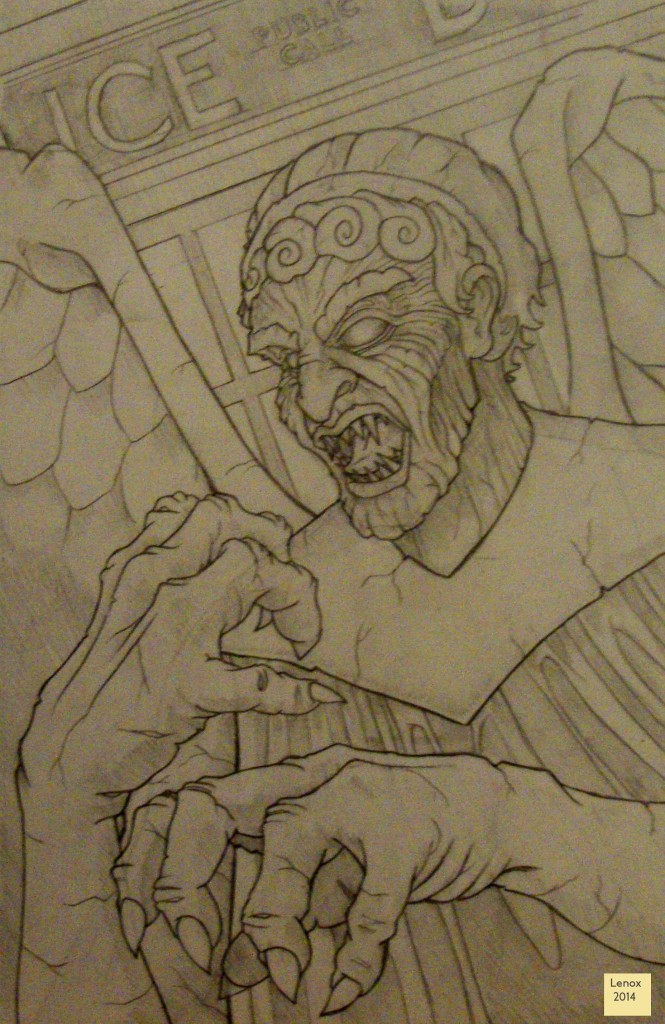Jason Lenox Angel Dr Who Progress Pencils