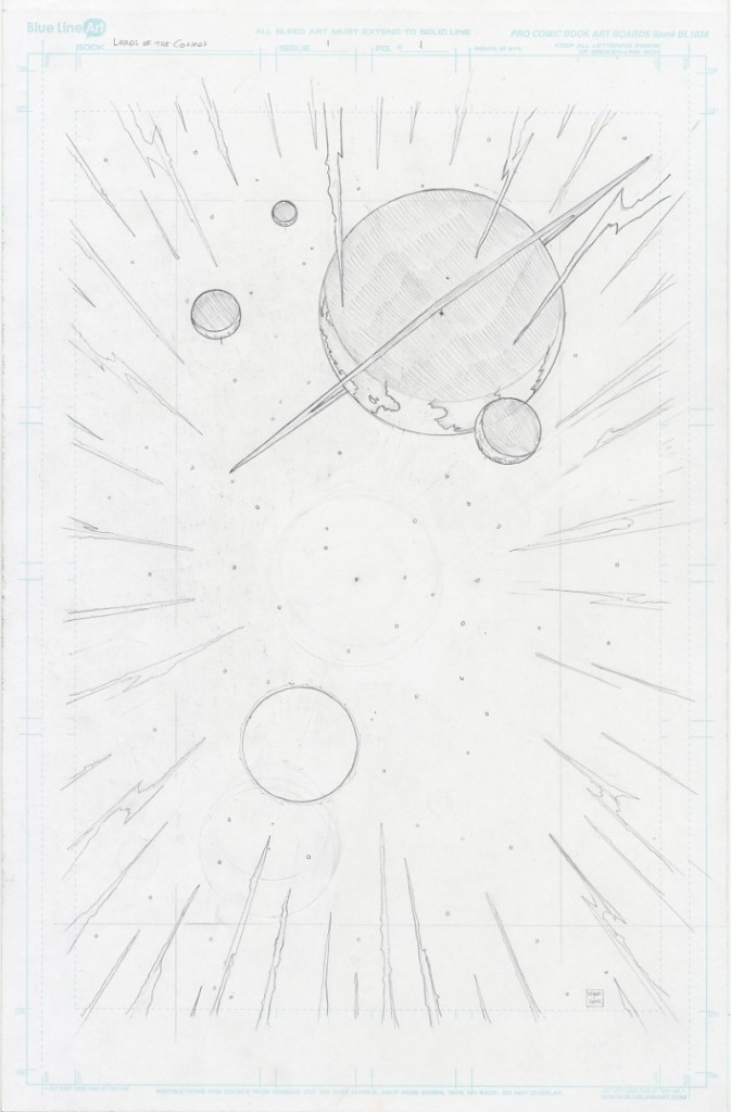 Lords of the Cosmos Page 1 Pencils Jason Lenox