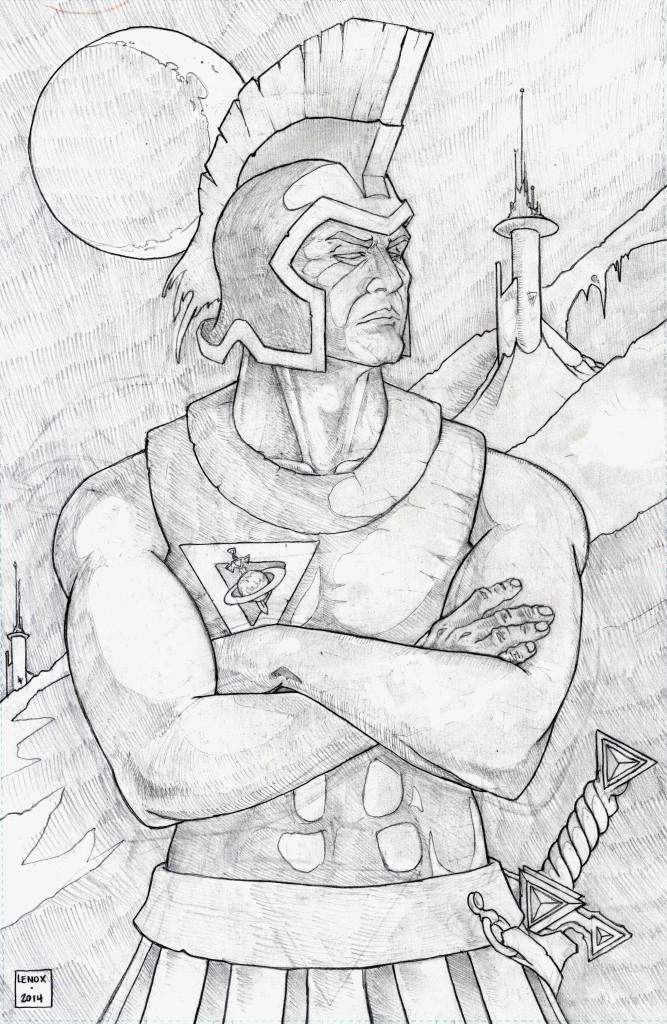 Aegeus Lords of the Cosmos Jason Lenox