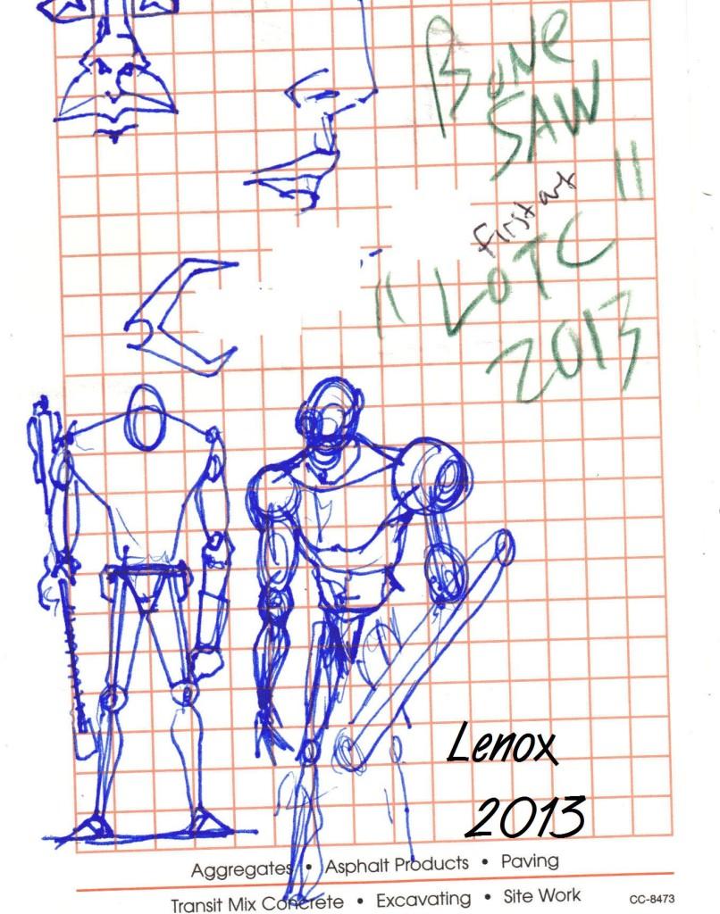 Jason Lenox Bonesaw original idea Lords of the Cosmos