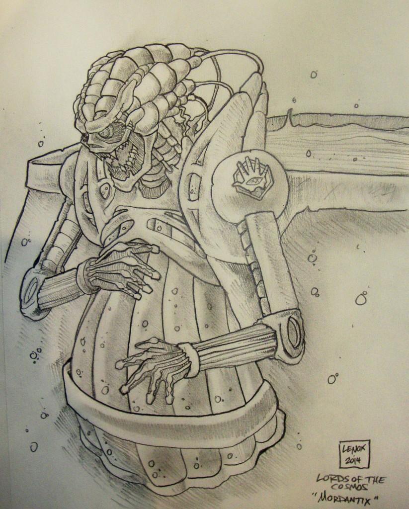 Jason Lenox Lords of the Cosmos - Mordantix