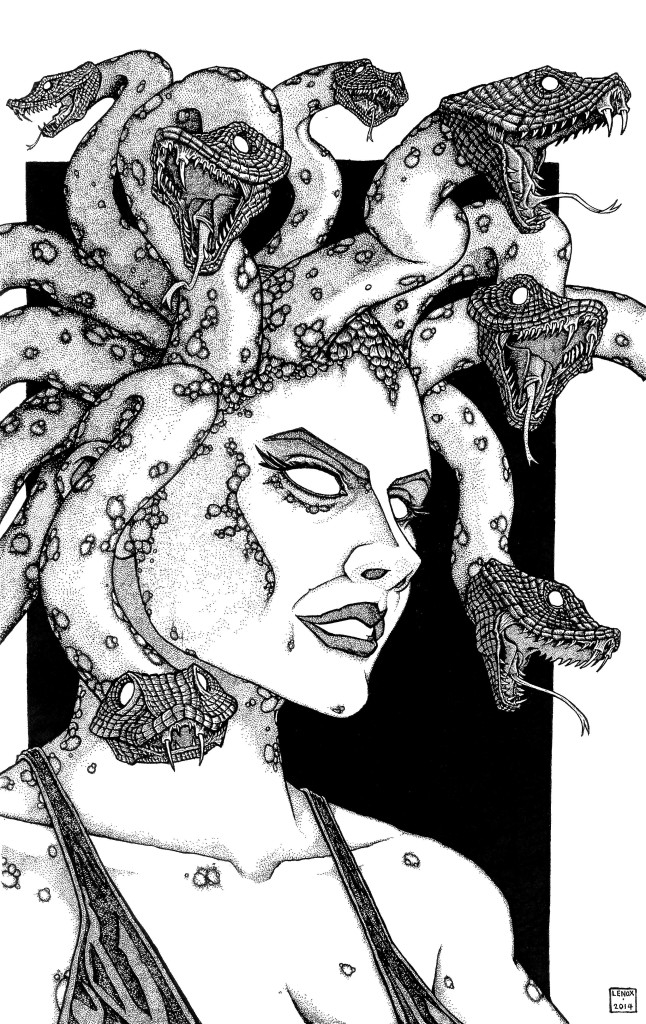 Gorgon Medusa Jason Lenox
