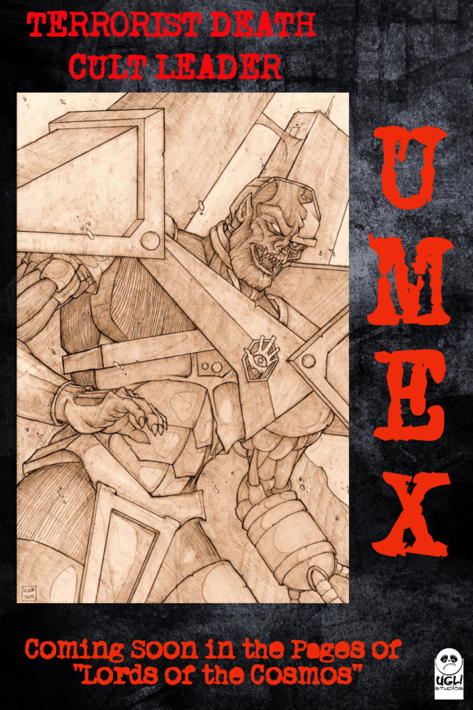 Jason Lenox LORDS OF THE COSMOS Umex Poster