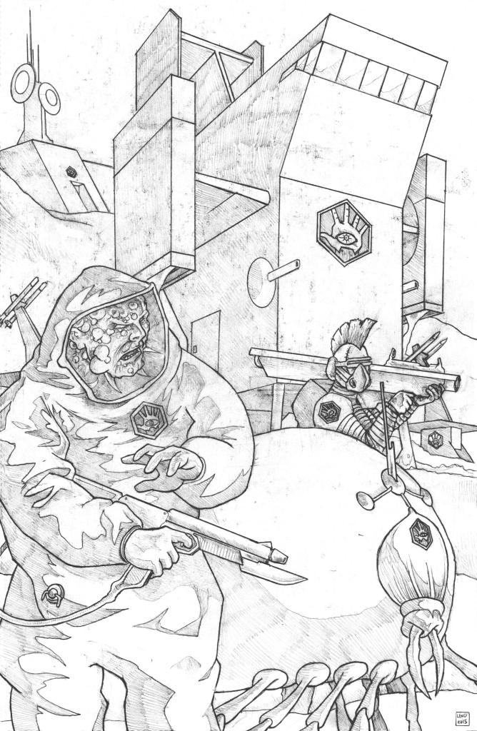 Lords of the Cosmos VTOL flight crew Disciples of Umex Jason Lenox