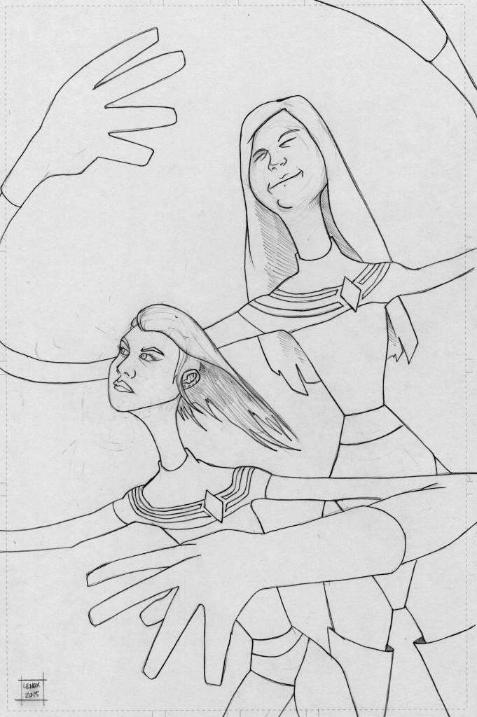 Jason Lenox Stretchy Girls Commissions