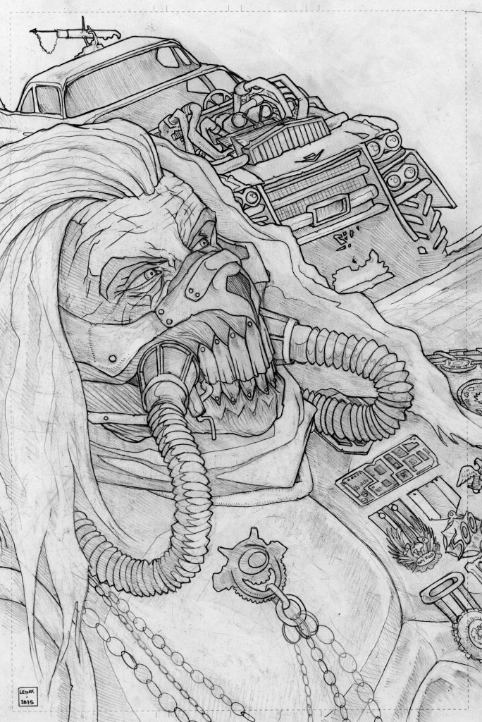 Immortan Joe - Fury Road Jason Lenox