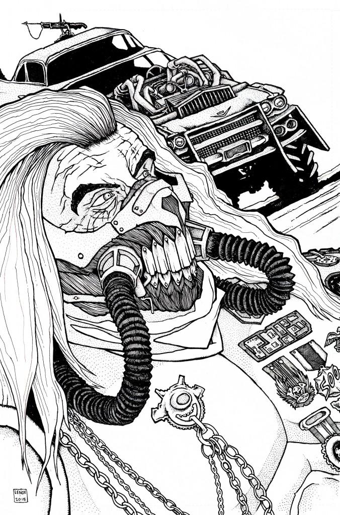 Immortan Joe Mad Max Jason Lenox
