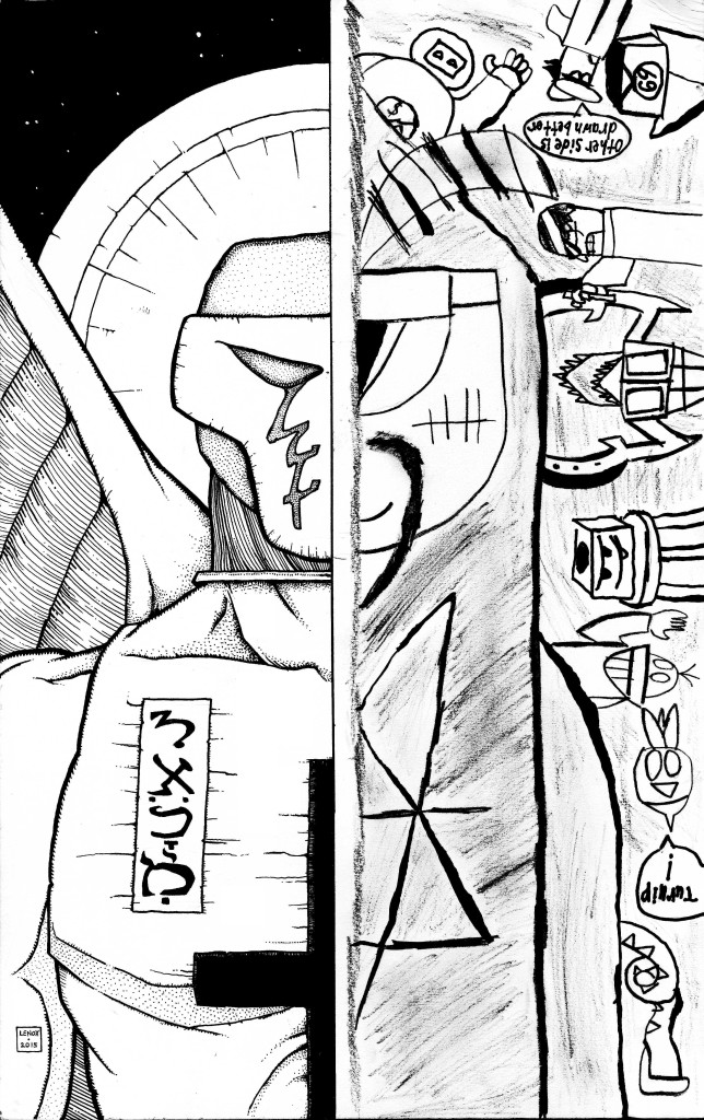 Jason Lenox and Mick the Nerd artwork