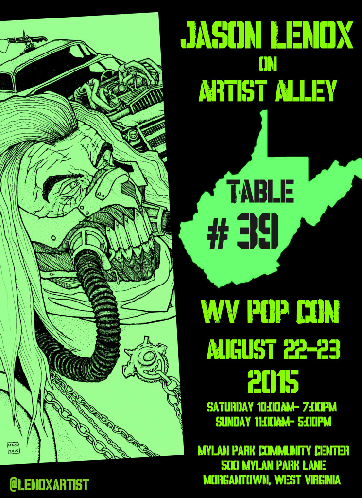 WVPOP CON Low Res Flyer Jason Lenox