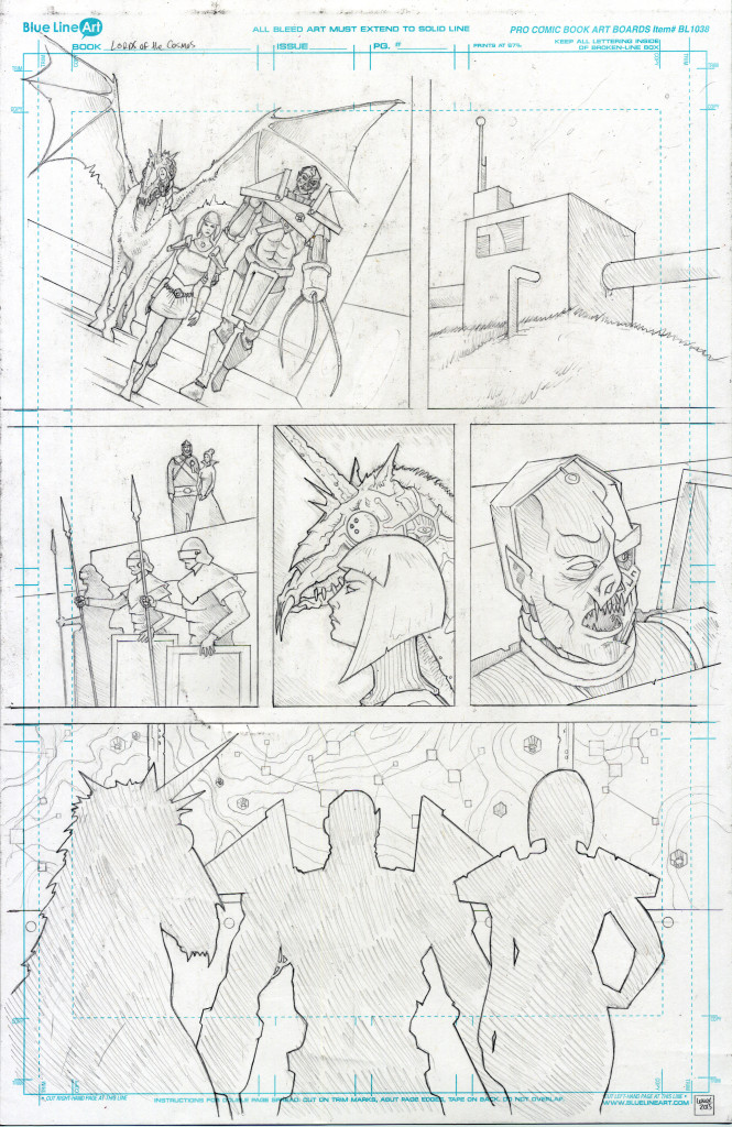 Lords of the cosmos Chapter 2 page 5 Jason Lenox
