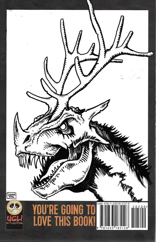 Lenox Back Sketch Cover 12