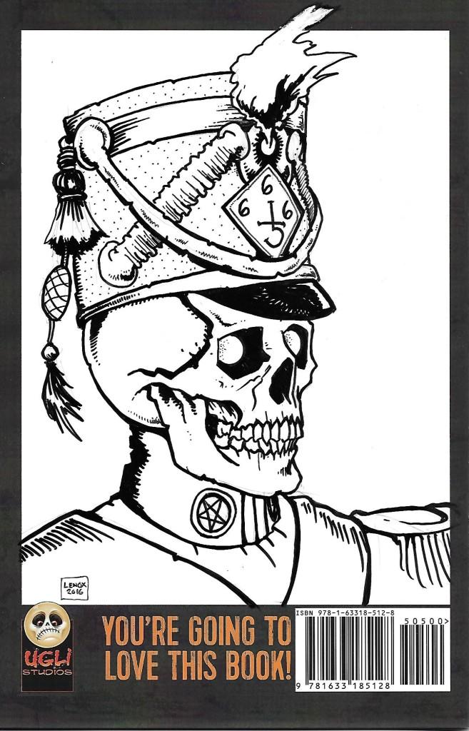 Lenox Back Sketch Cover 8
