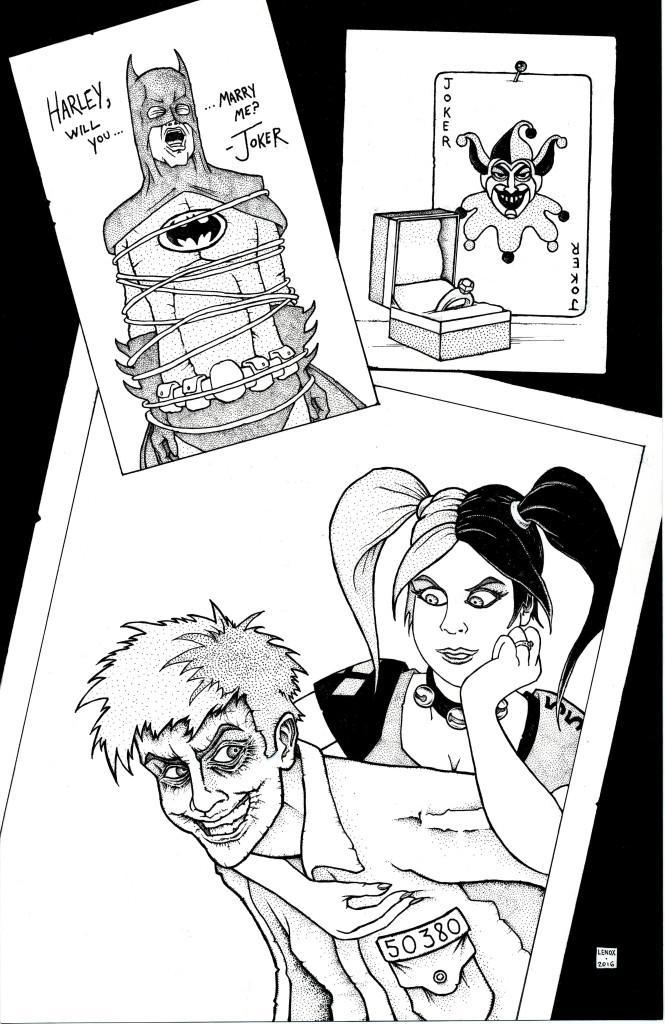 Jason Lenox Harley and Joker