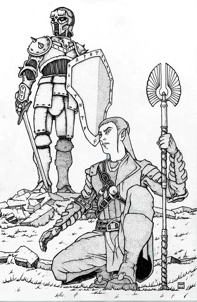 Jason Lenox Elf and Warforged
