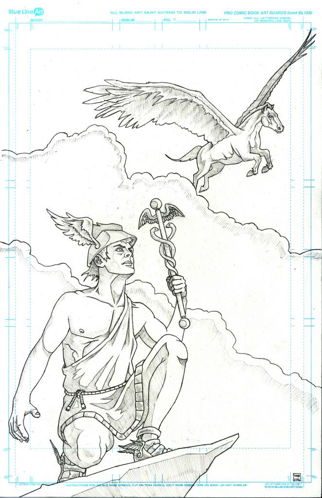 Hermes and Pegasus Jason Lenox