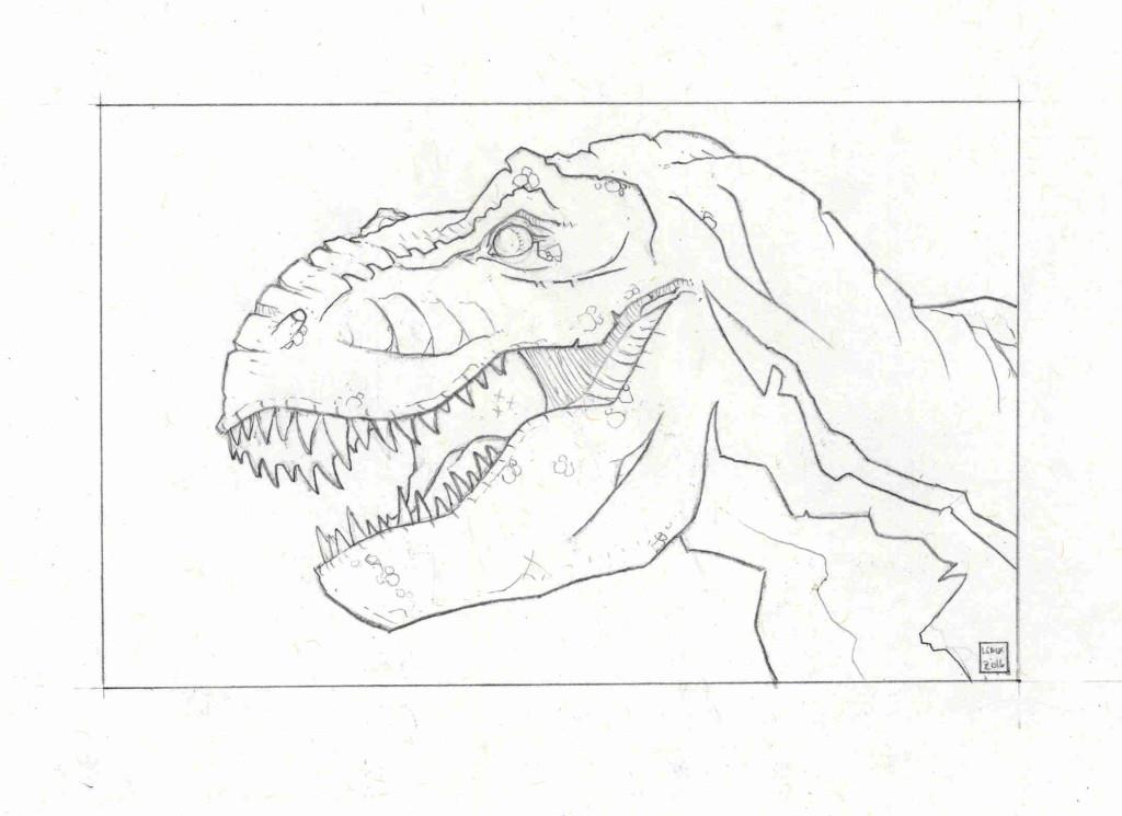 Prehistoric Productions Jason Lenox TRex