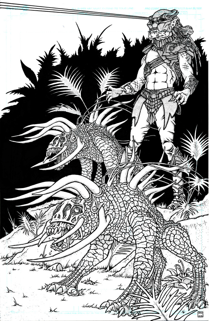 Predator and Hounds Jason Lenox
